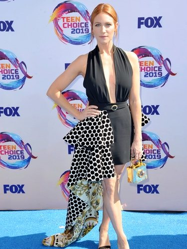 Brittany Snow mixes four trends at the 2019 Teen Choice Awards