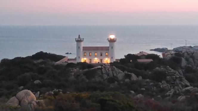 The Senetosa lighthouse, which was completed in 1892.