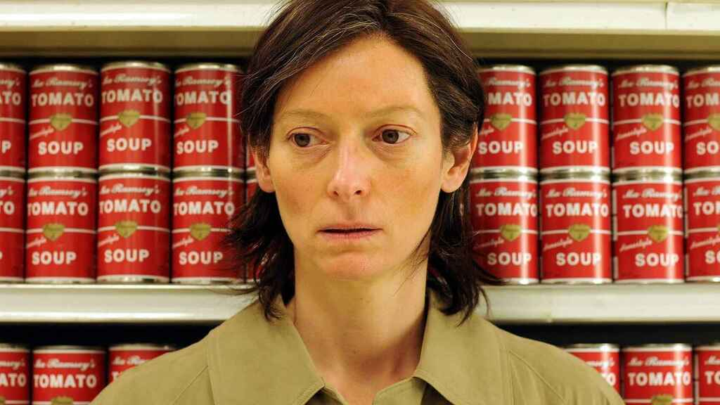 Tilda Swinton in 'We need to talk about Kevin'.