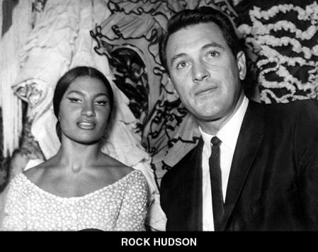 Rock Hudson, with a bailaora in the Corral
