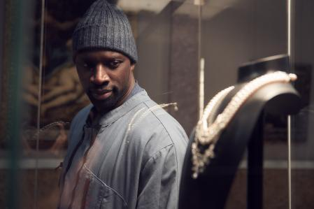 French actor Omar Sy stars in 'Lupine'