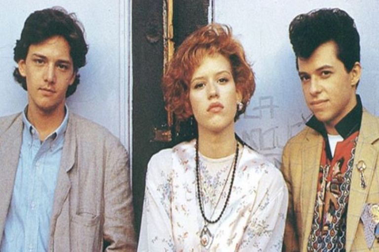 Pretty in pink was the last film in the John Hughes trilogy.  It was considered the best in the genre for teenagers