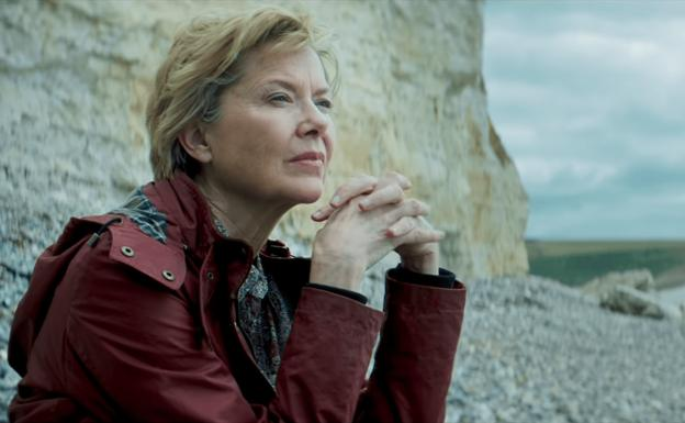 Annette Bening, in a frame from the film.