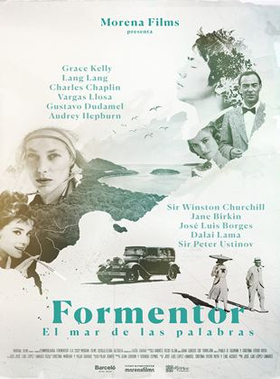 Poster of Formentor, the sea of words