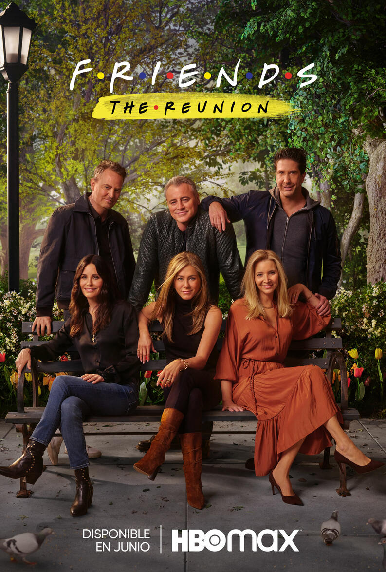friends the reunion hbo poster