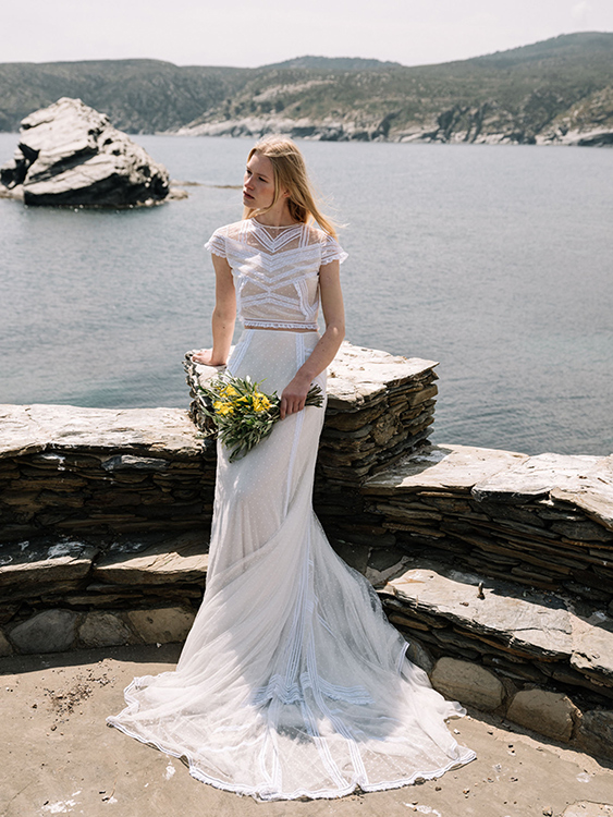 Set for brides from the 2018 collection by Marta Martí
