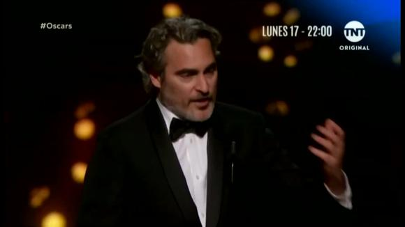 Joaquin Phoenix won the Oscar for Best Leading Actor at the Film Academy (02/09/2020)