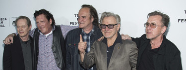 Tarantino and the protagonists of 'Reservoir Dogs' reunite to celebrate the 25th anniversary of the film