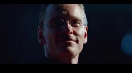 Michael Fassbender characterized as Steve Jobs in the movie he plays about the Apple co-founder