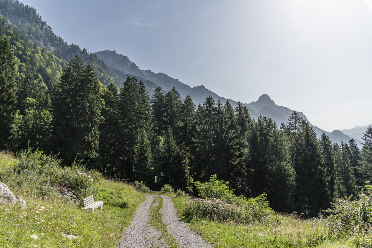 Hike to Klostertal Bludenz