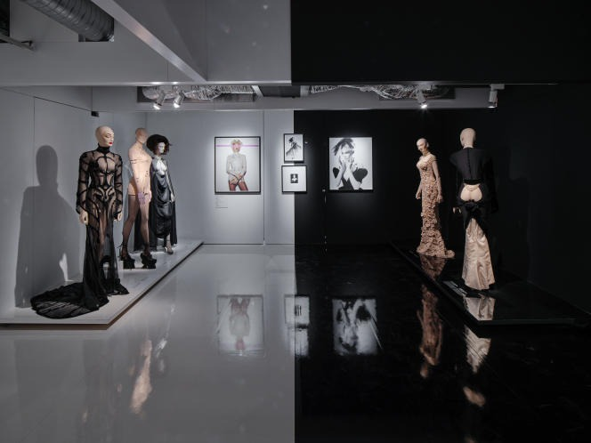 View of the exhibition ?Couturissime? by Thierry Mugler, at the Mus�e des Arts D�coratifs.
